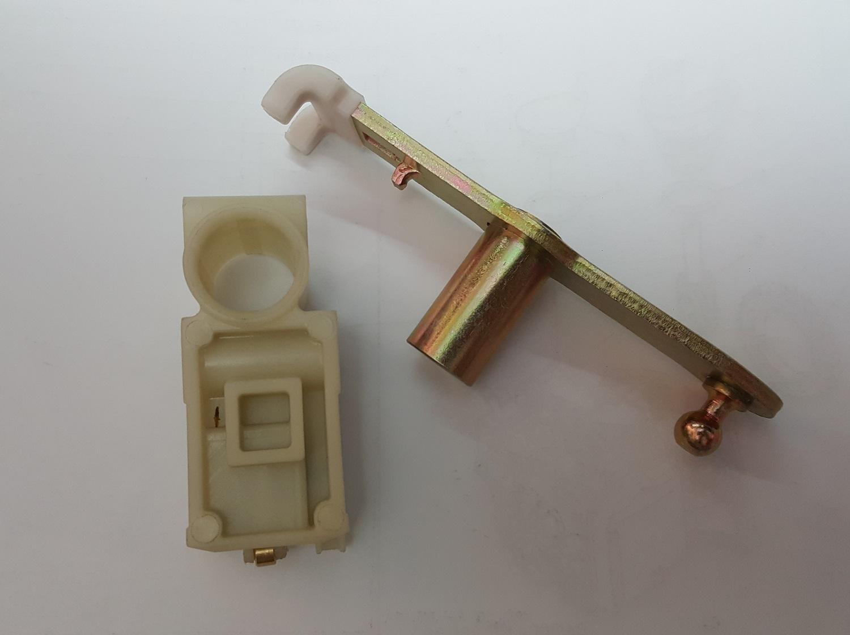 گیربکس اتومات◄ دوشاخه شیفتر گیربکس اتوماتیک بهمراه  قطعه پلاستیکی