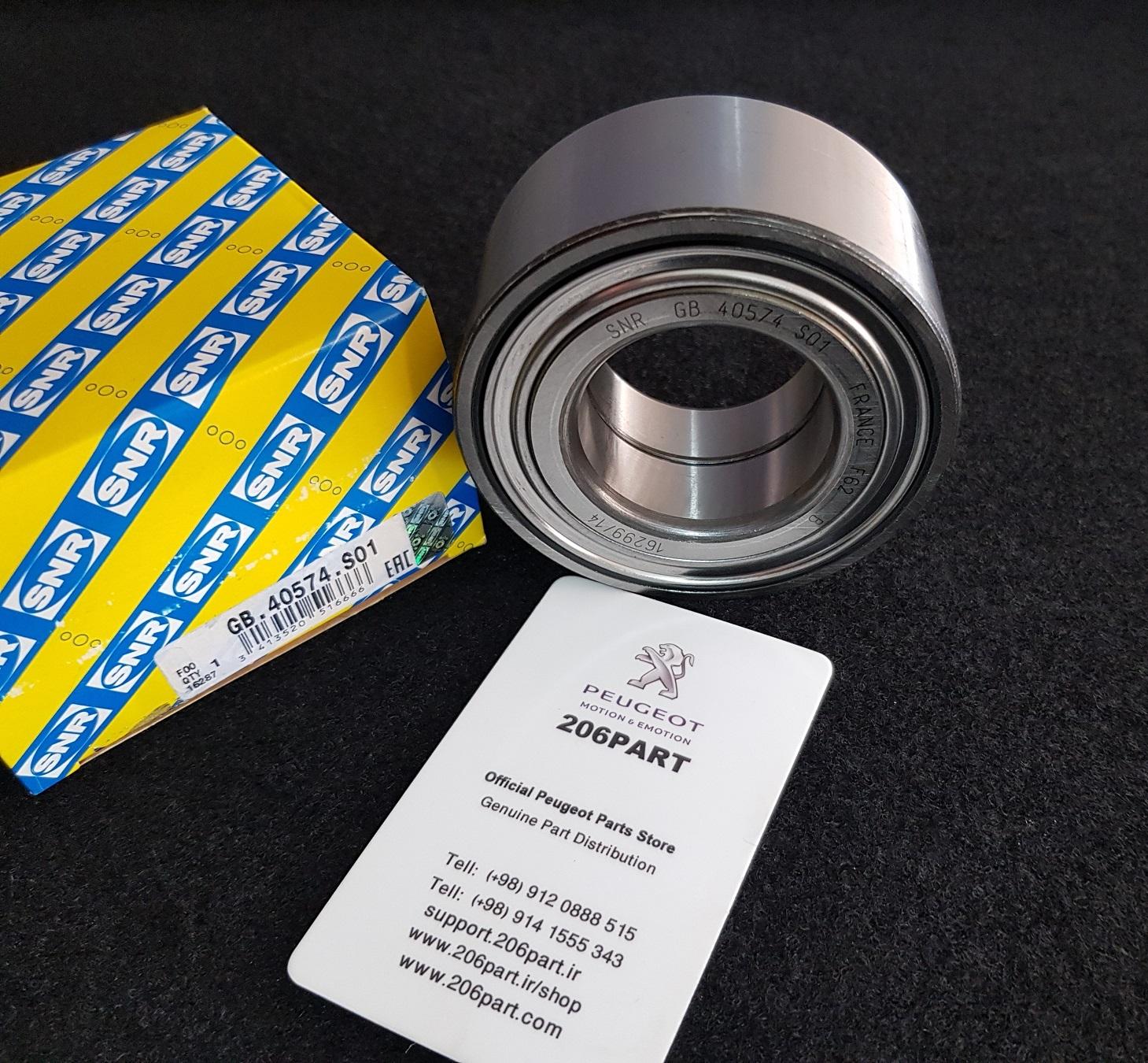 بلبرینگ توپی چرخ جلو 206 تیپ 5 و 207/ SNR