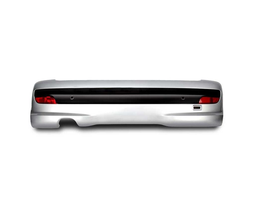 سپر عقب 207i کامل بدون سنسور (فلاپ سوراخ دار) هاچبک – خاکستری/ فابریک اصلی (کروز)