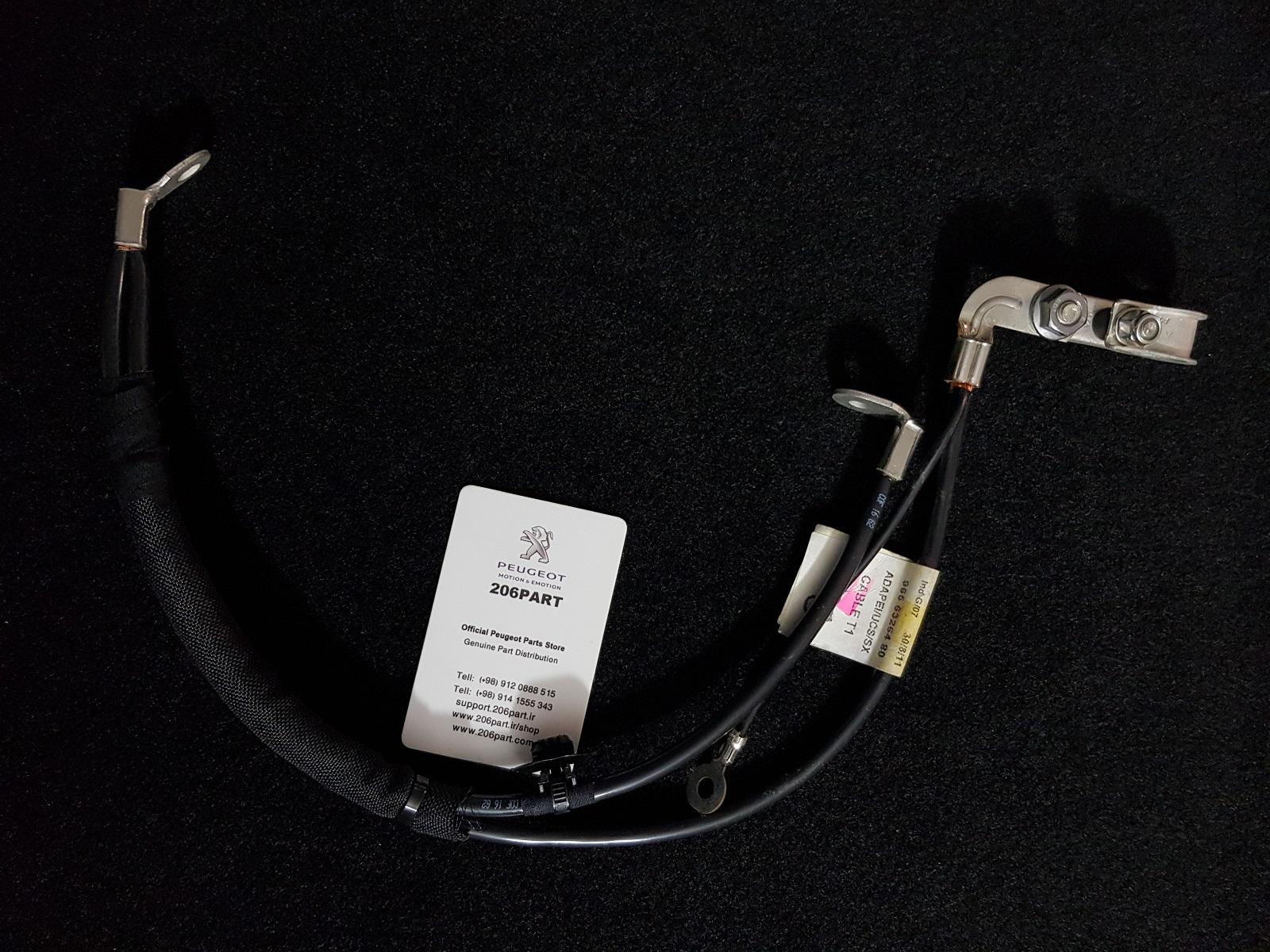 کابل منفی – باتری 206 و 207 تا مدل 91 – اورجینال / فرانسه