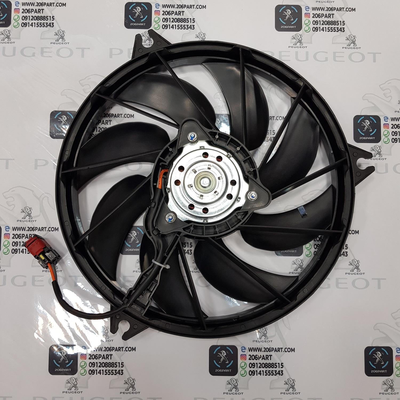 موتور و پروانه فن کامل پژو 206 و 207
