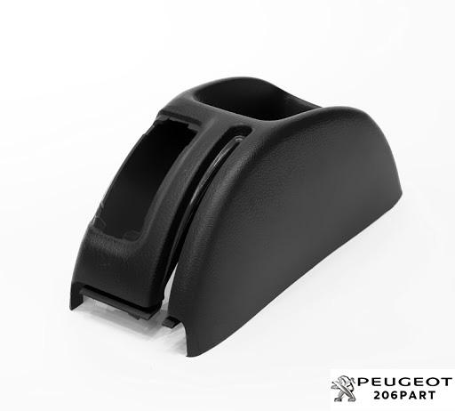 کنسول اهرم ترمز دستی پژو 206 با جای کلید شیشه بالابر عقب
