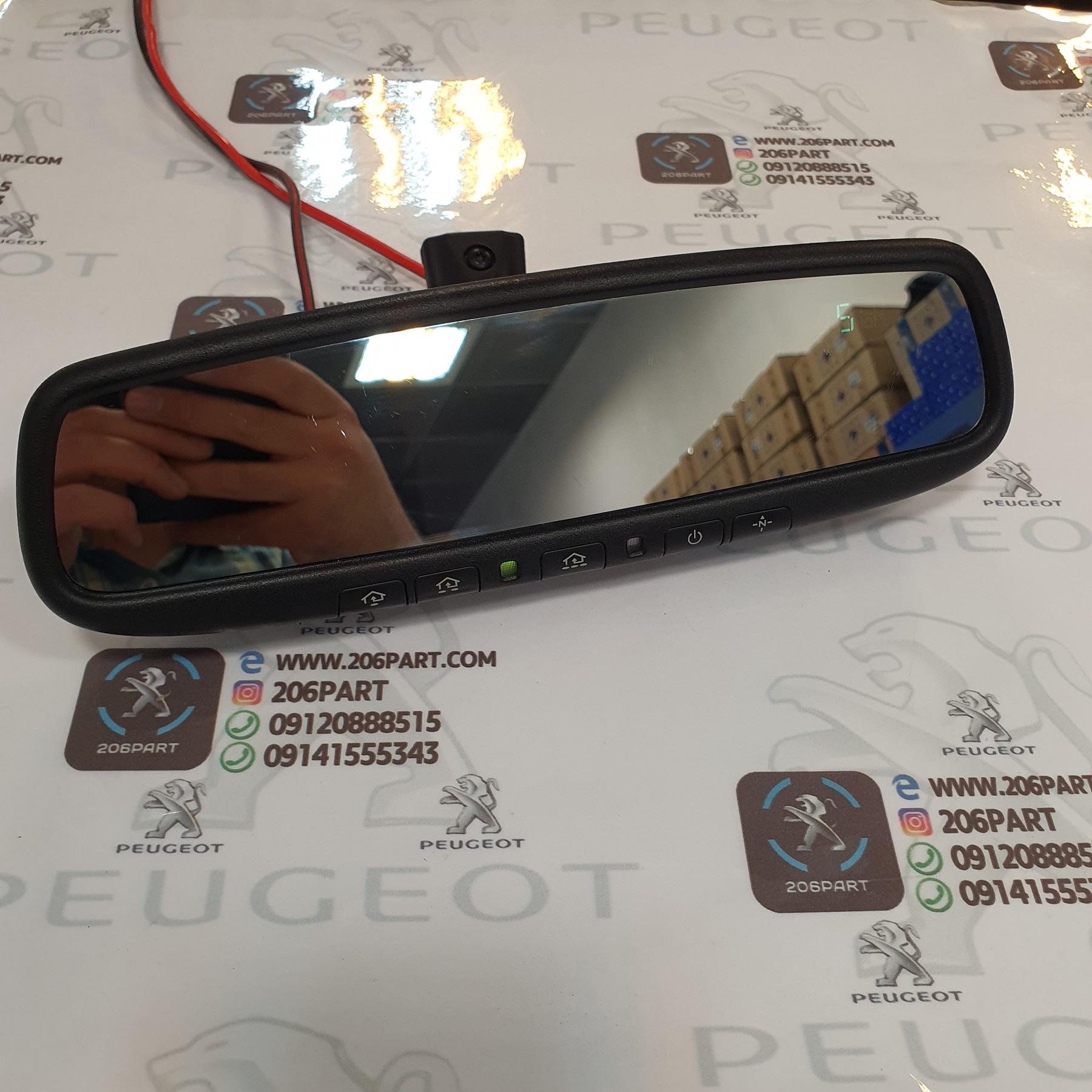 آینه الکتروکرومیک (Autodim Mirror) قطب نما دار نارنجی/ امریکاUSA