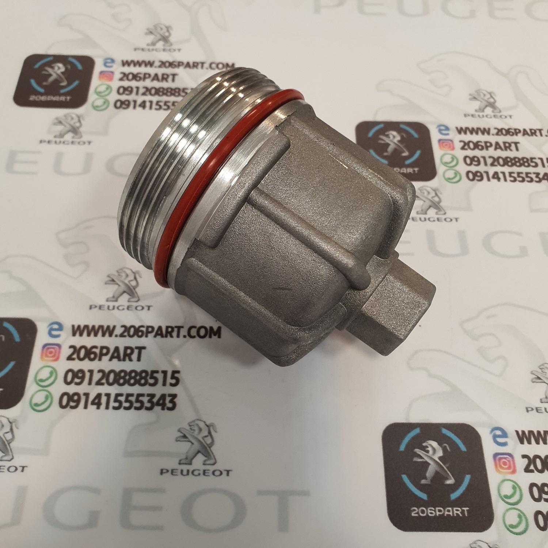 درب فیلتر روغن پژو 206 و 207i / فلزی
