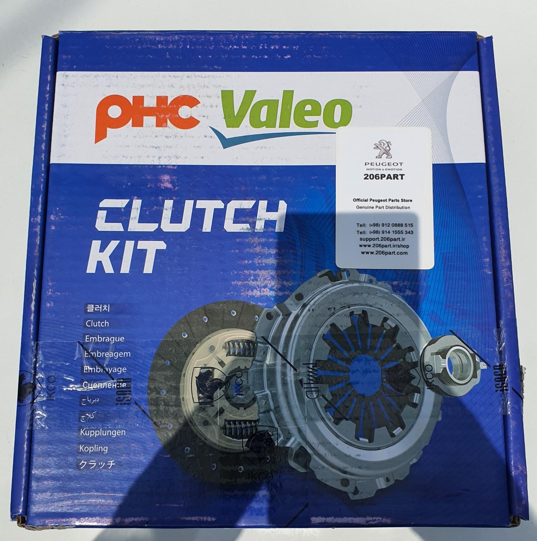 دیسک و صفحه کلاچ پژو 206 , 207 Valeo کره PHC / اصلی شرکتی